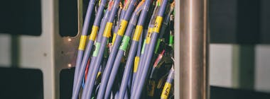 Fibre optic broadband cables