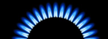 Gas ring from hob cooker