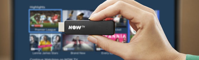 The NOW TV smart stick