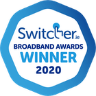 Switcher Broadband Awards Logo