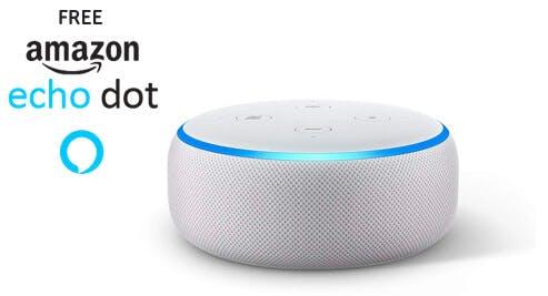 Free Amazon echo dot